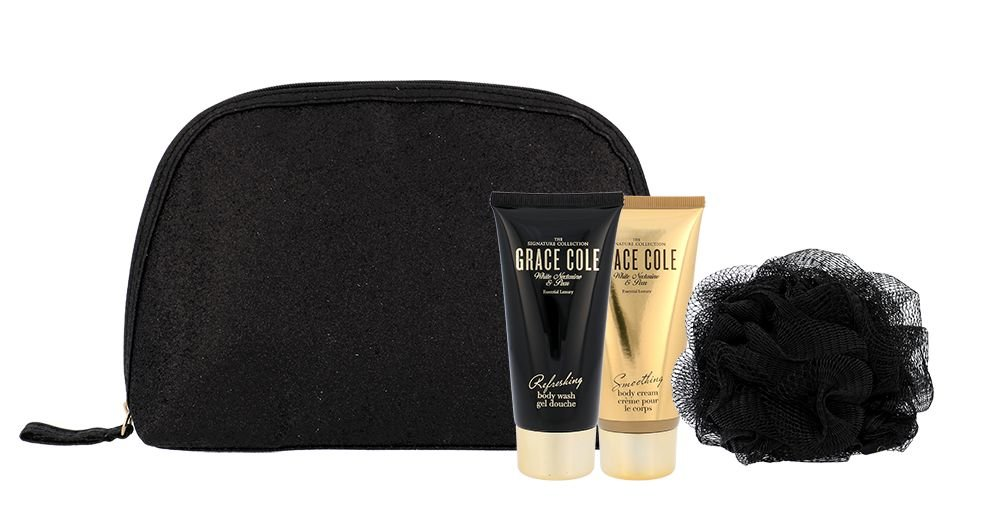 Grace Cole White Nectarine & Pear Luxury Kit Cosmetic 100ml