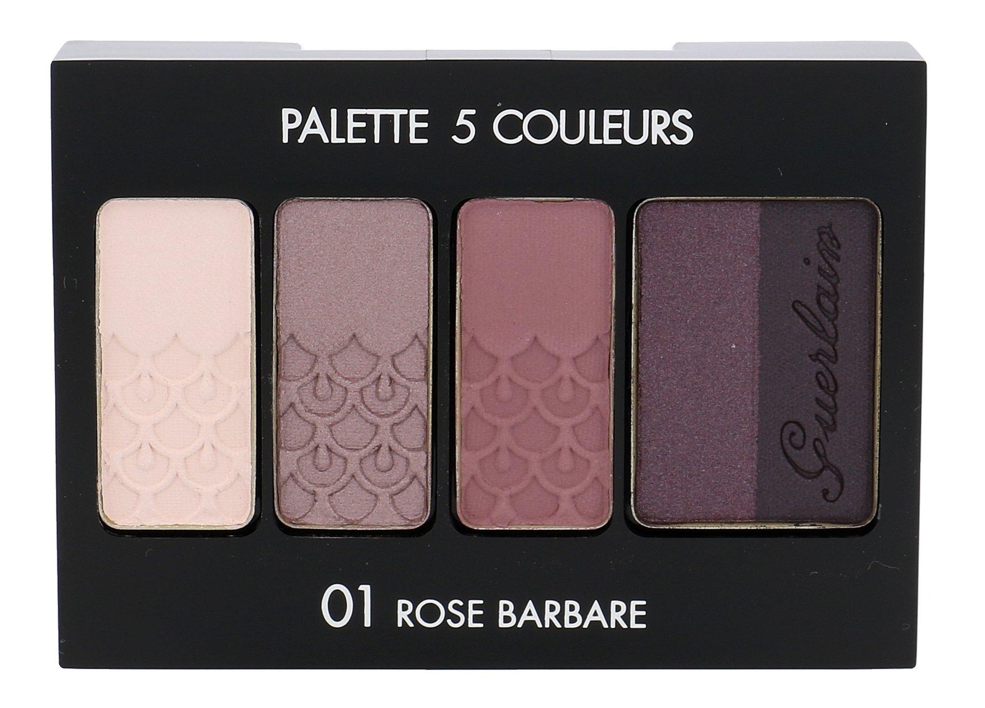 Guerlain Palette 5 Couleurs Cosmetic 6ml 01 Rose Barbare