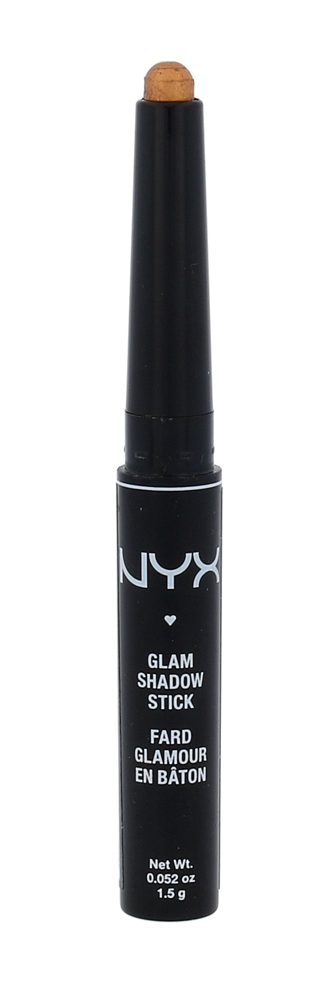 NYX Professional Makeup Glam Shadow Stick Cosmetic 1,5ml 14 Divine Amber