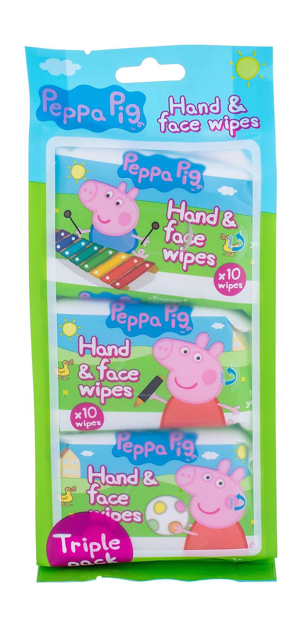 Peppa Pig Peppa Cosmetic 30ml  Hand & Face Wipes
