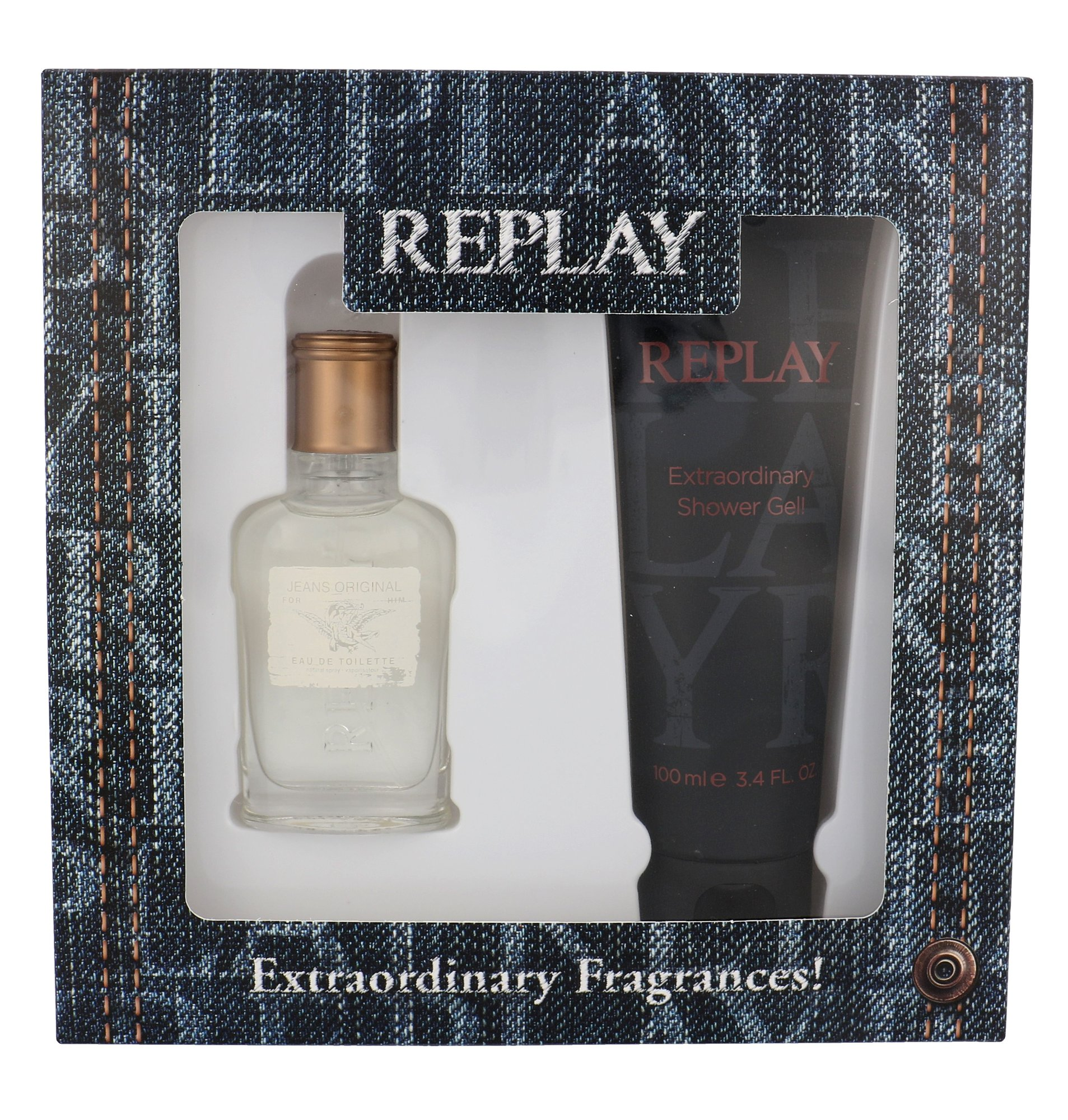 Replay Jeans Original! For Him EDT 30ml