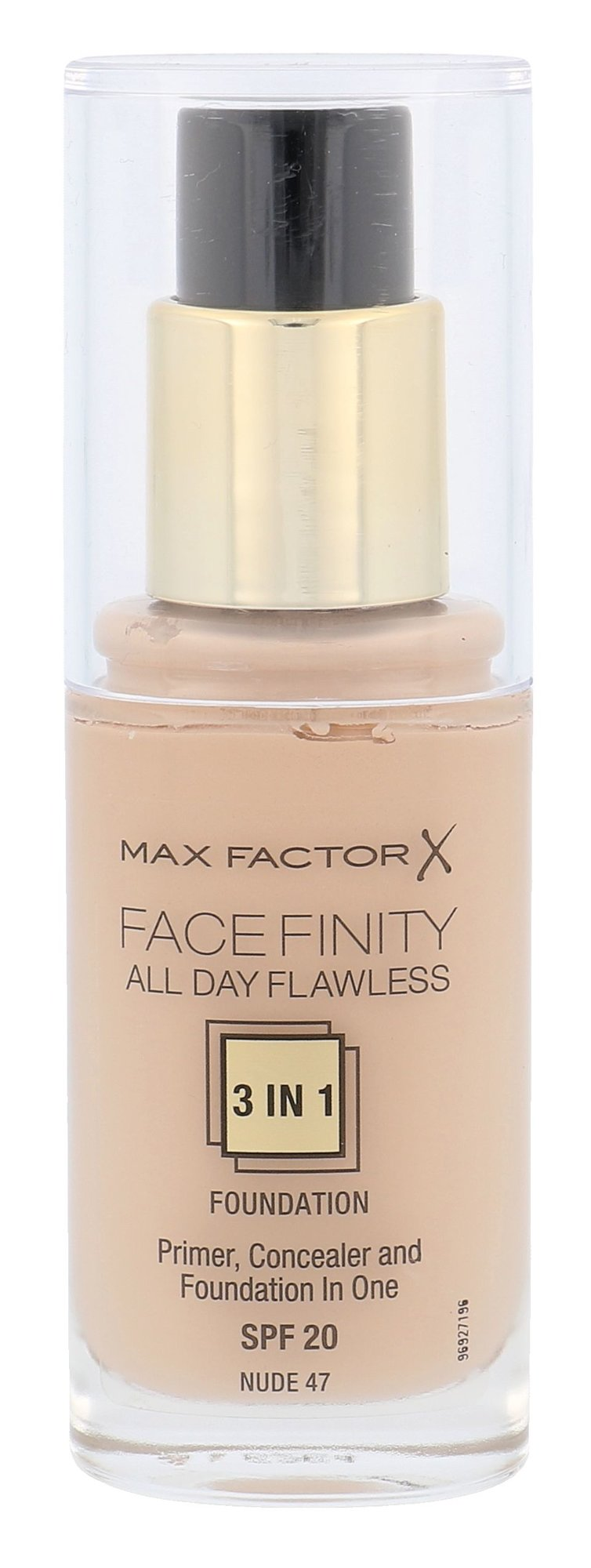 Max Factor Facefinity Cosmetic 30ml 47 Nude