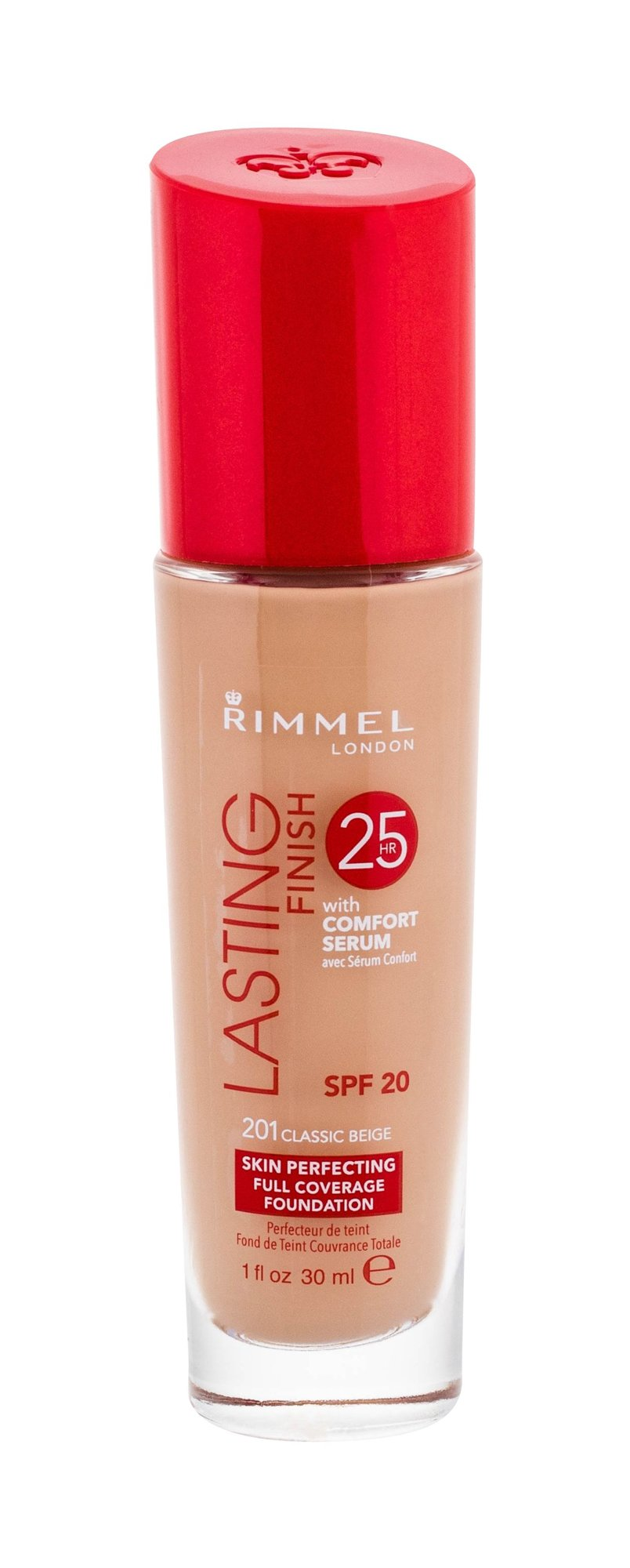 Rimmel London Lasting Finish Cosmetic 30ml 201 Classic Beige