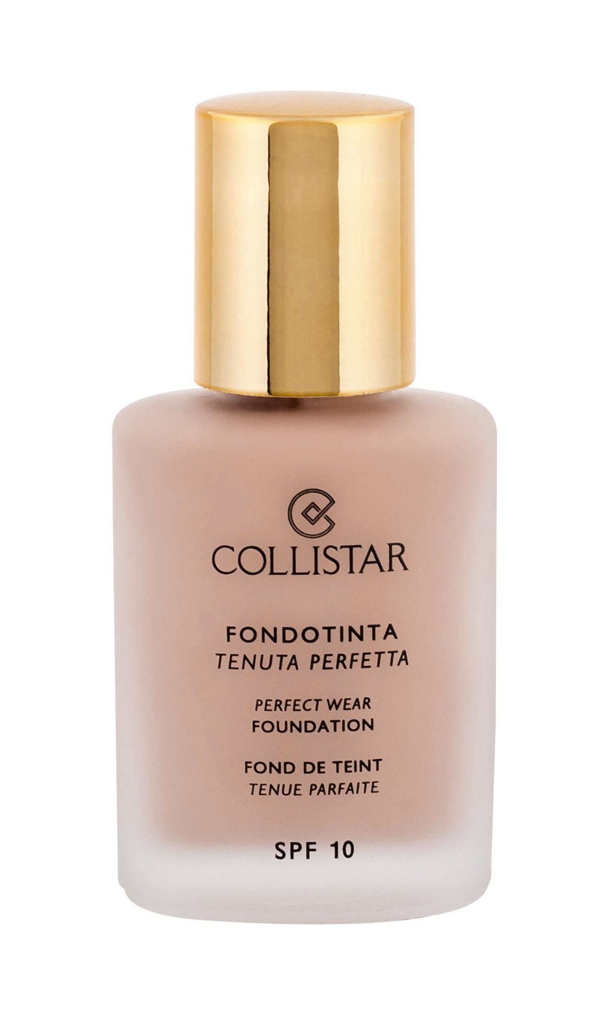 Collistar Perfect Wear Foundation Cosmetic 30ml 4 Biscuit