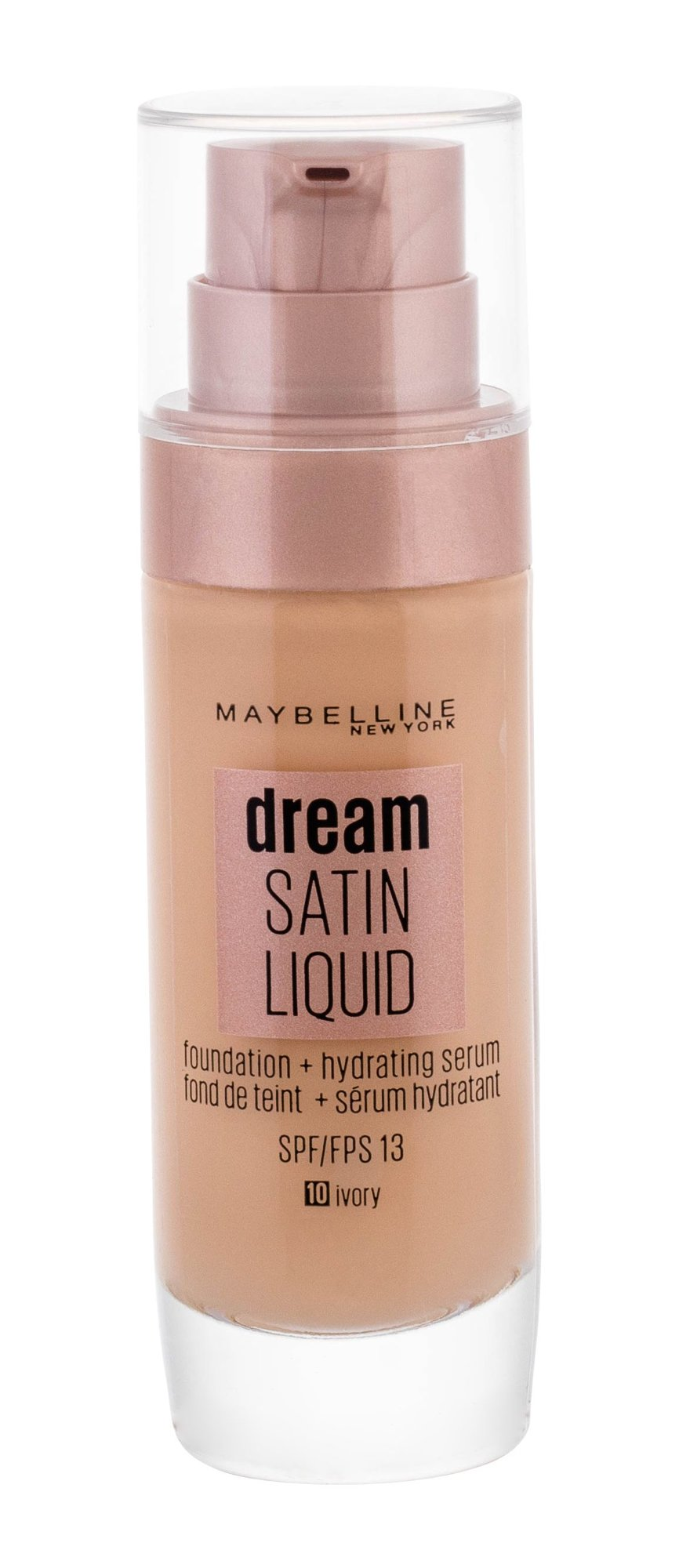 Maybelline Dream Satin Cosmetic 30ml 10 Ivory