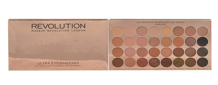 Makeup Revolution London Ultra Eyeshadows Palette Cosmetic 16ml