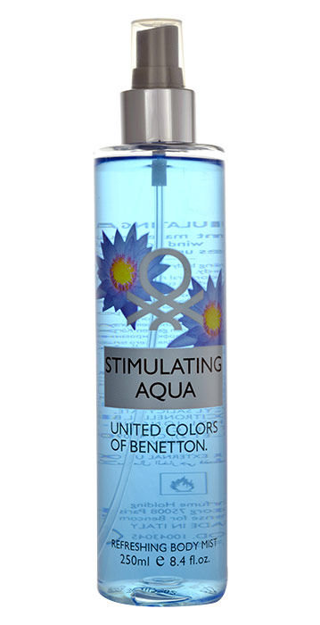 Benetton Stimulating Aqua Body veil 250ml