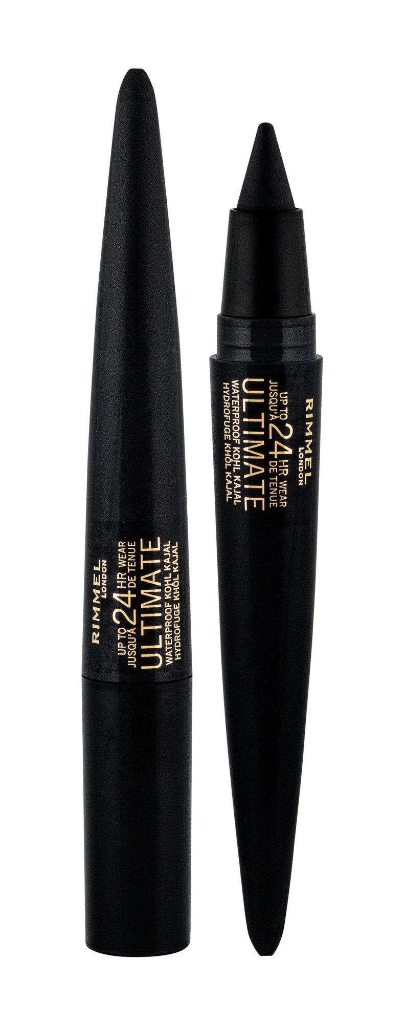Rimmel London Ultimate Eye Pencil 1,6ml 001 Black Obsidian