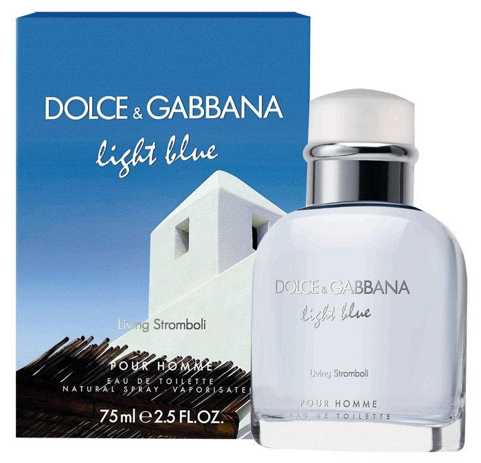 Dolce&Gabbana Light Blue Living Stromboli Pour Homme EDT 75ml