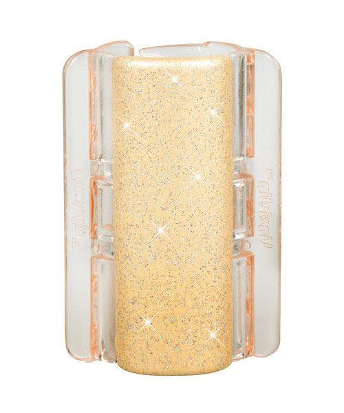Linziclip Maxi Hair Clip Cosmetic 1pc Linen Pearl Glitter