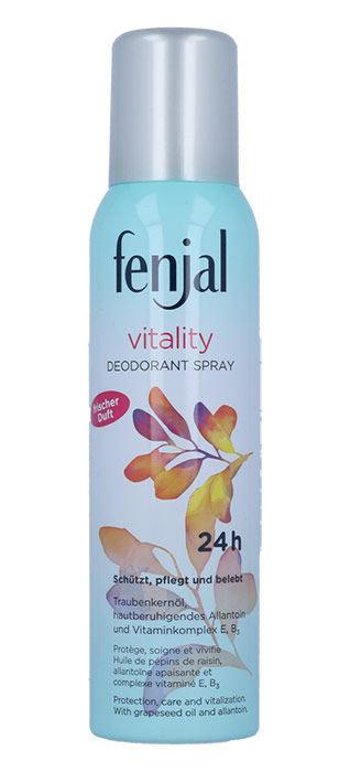 Fenjal Vitality Deodorant Spray 24H Cosmetic 150ml