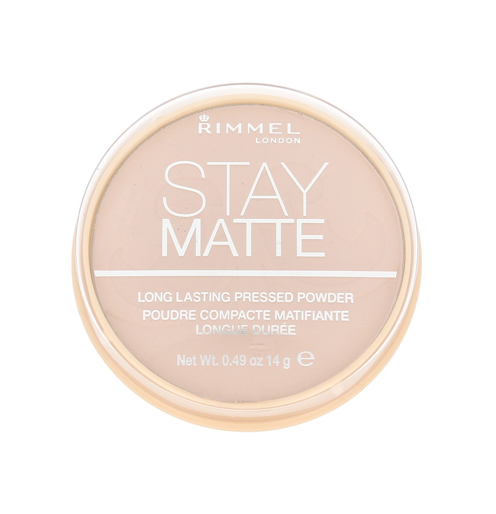 Rimmel London Stay Matte Cosmetic 14ml 003 Peach Glow
