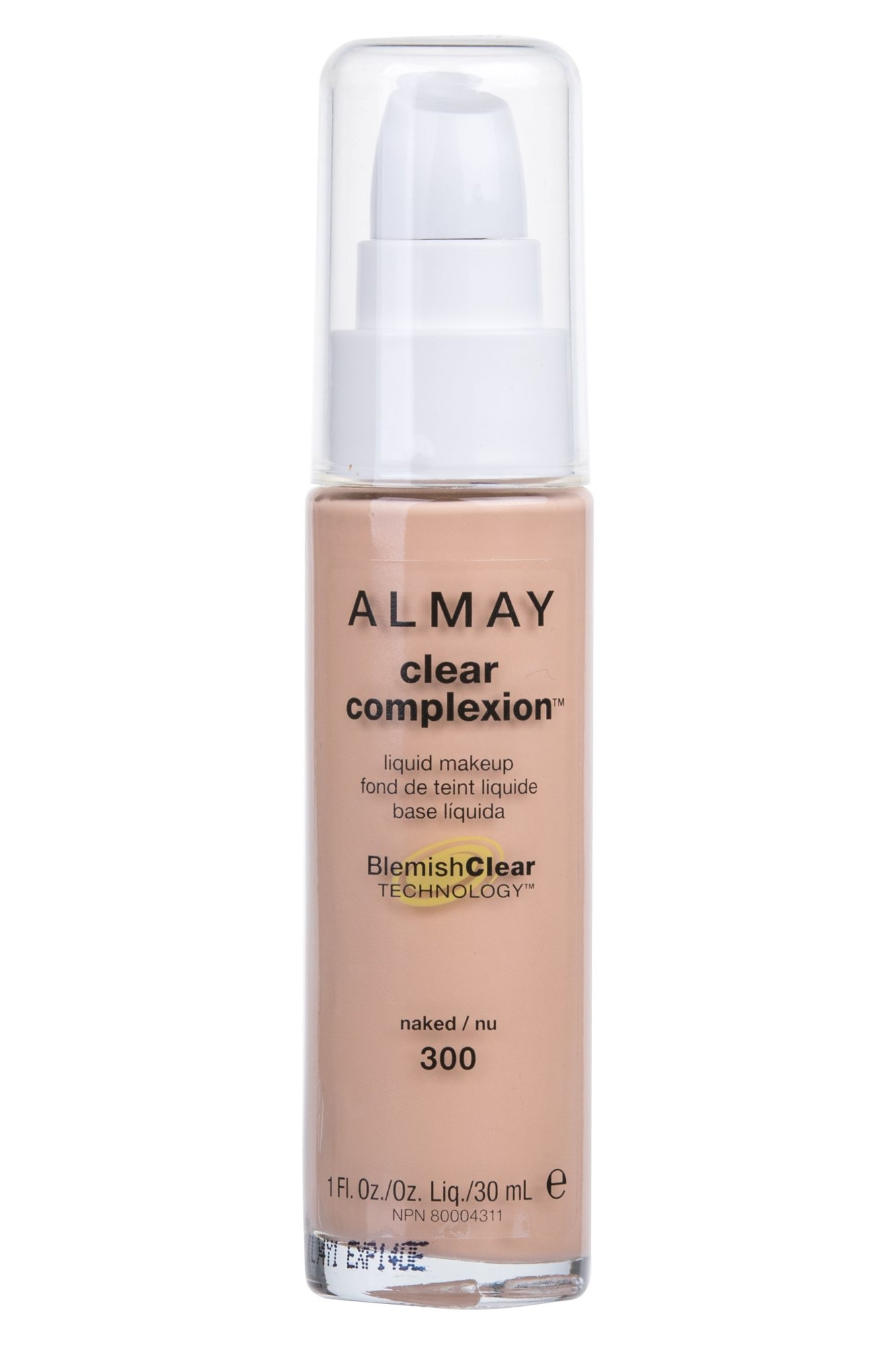 Almay Clear Complexion Cosmetic 30ml 300 Naked