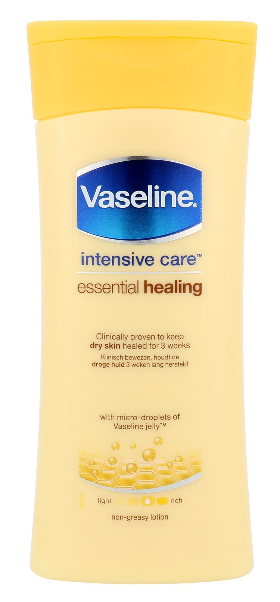 Vaseline Intensive Care Essential Healing Lotion Cosmetic 200ml