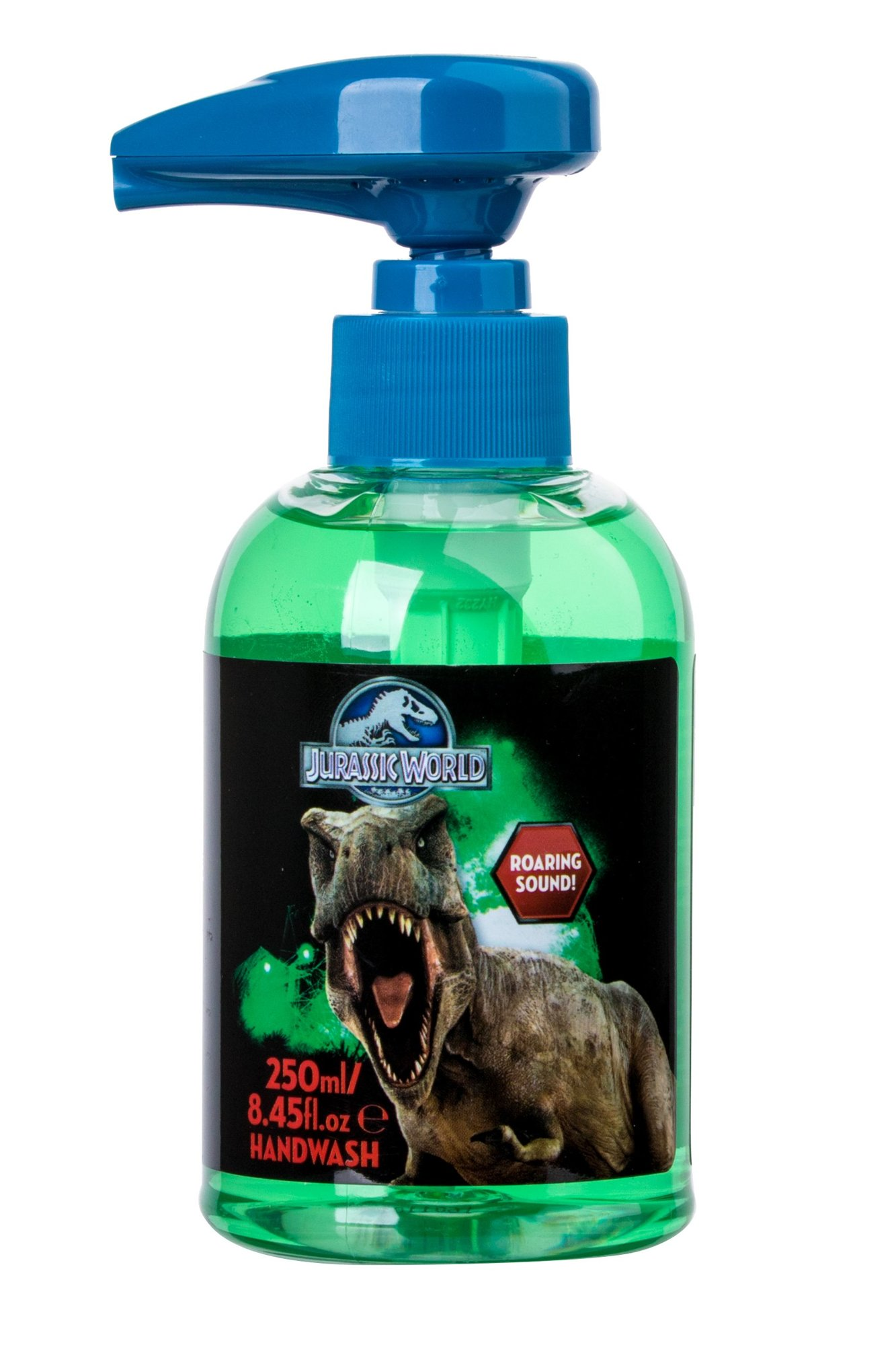 Universal Jurassic World Hand Wash With Roaring Sound Cosmetic 250ml