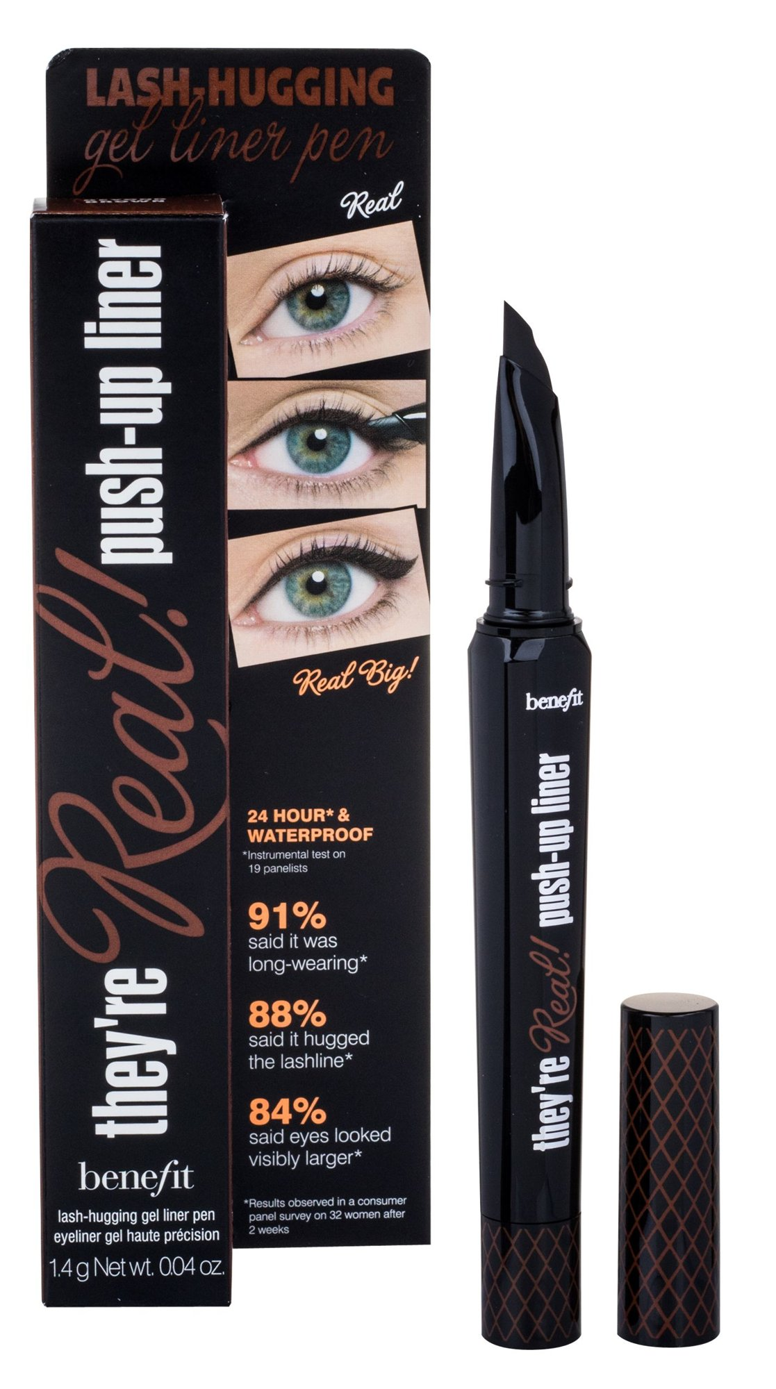 Benefit They´re Real! Cosmetic 1,3ml Brown