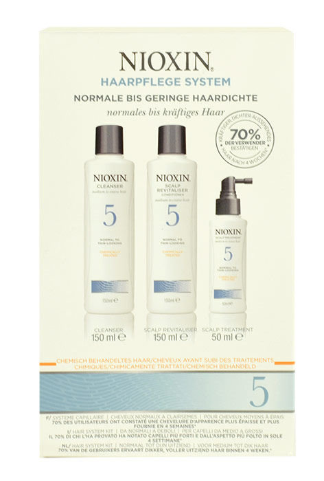 Nioxin Hair System 5 Kit Cosmetic 350ml