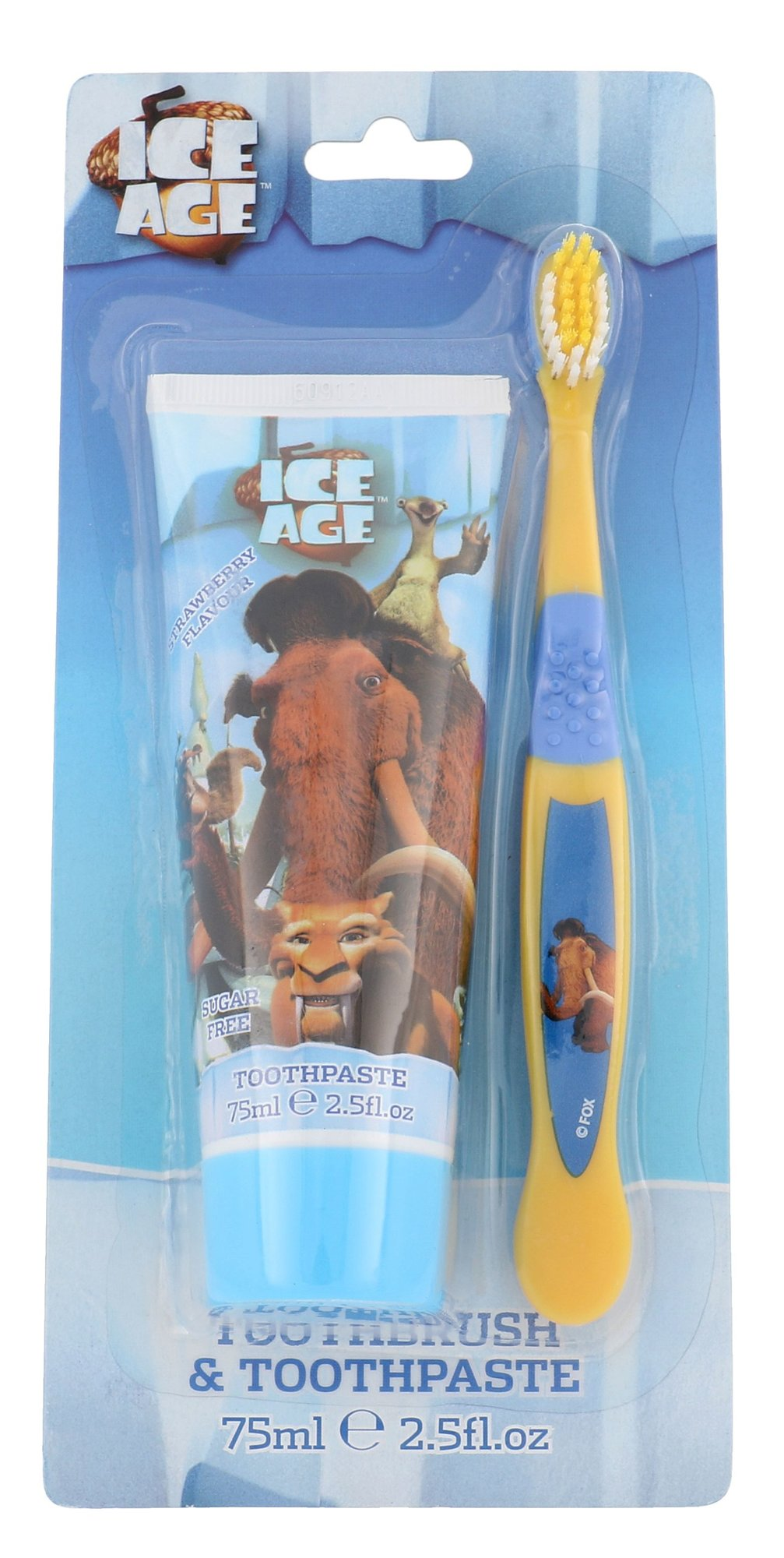 Ice Age Toothpaste Cosmetic 75ml  Strawberry