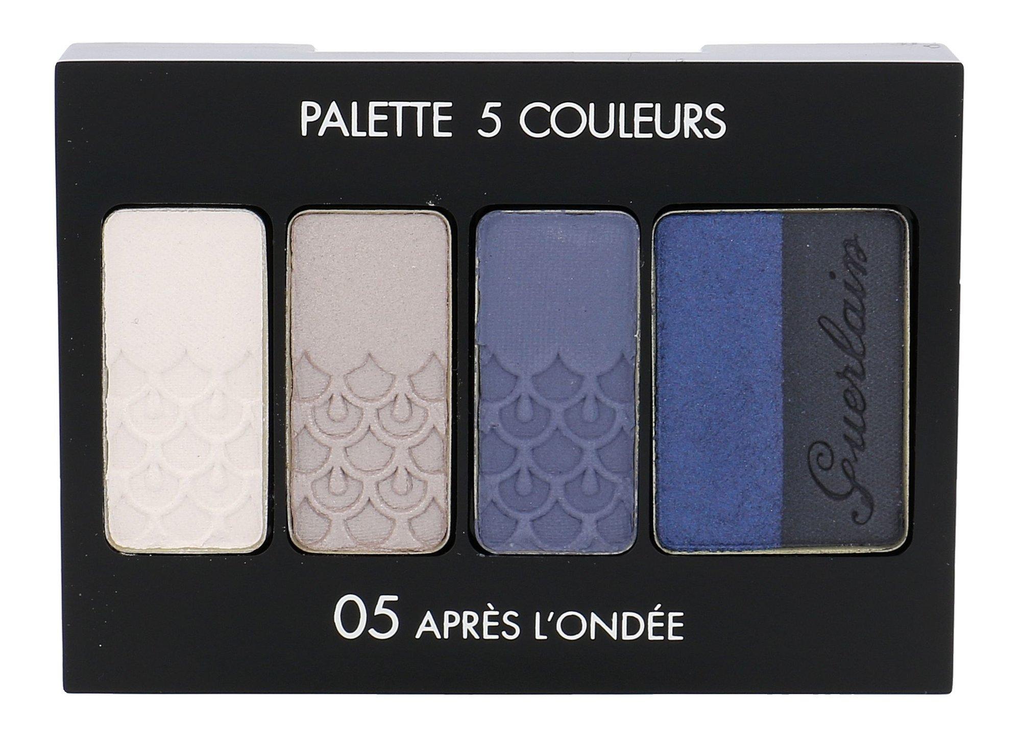 Guerlain Palette 5 Couleurs Cosmetic 6ml 05 Apres L´Ondée