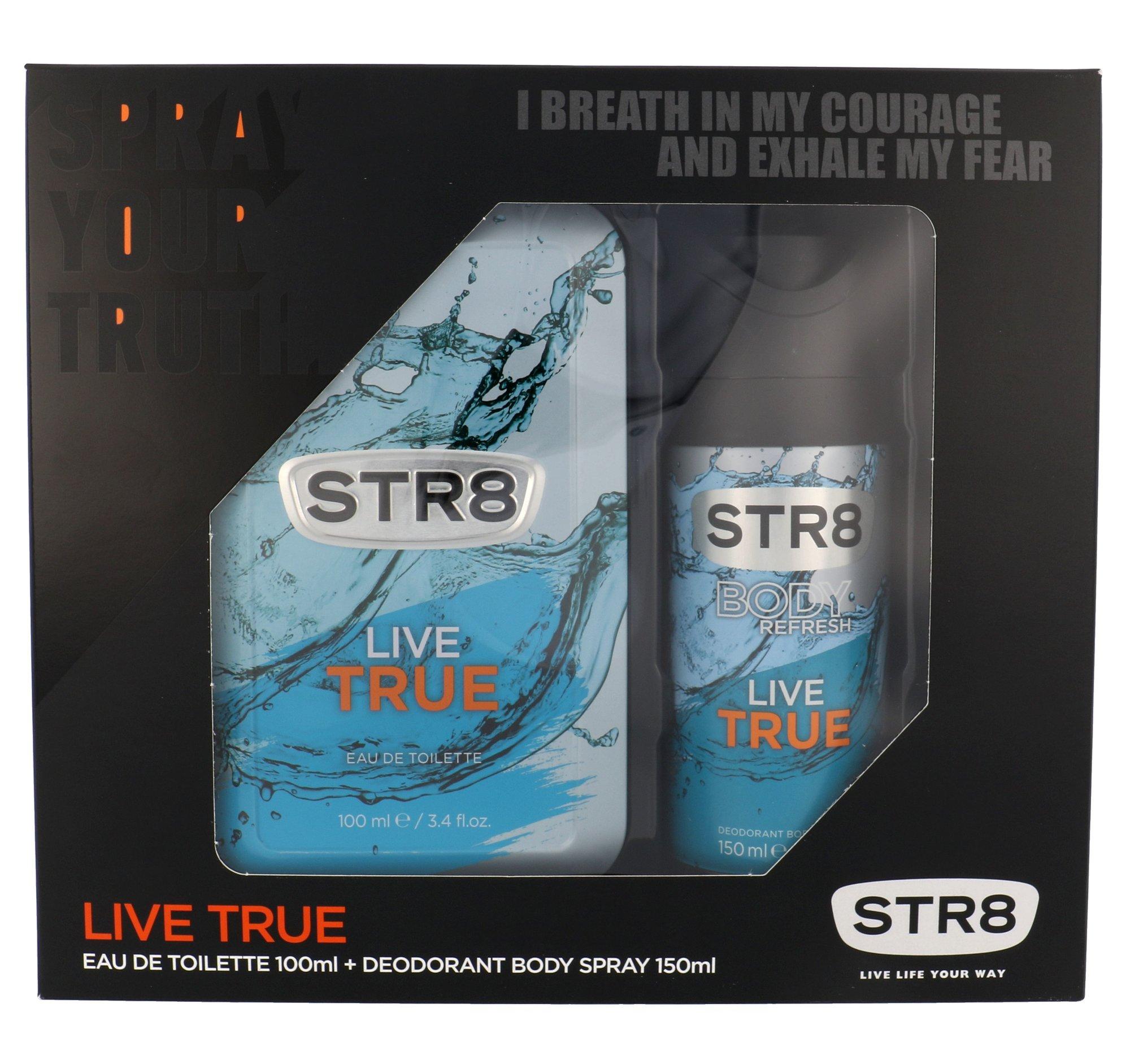 STR8 Live True EDT 100ml
