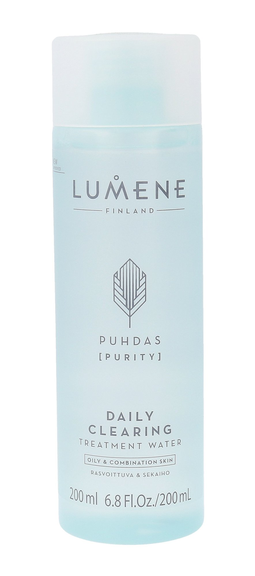 Lumene Purity Daily Clearing Treatment Water Cosmetic 200ml