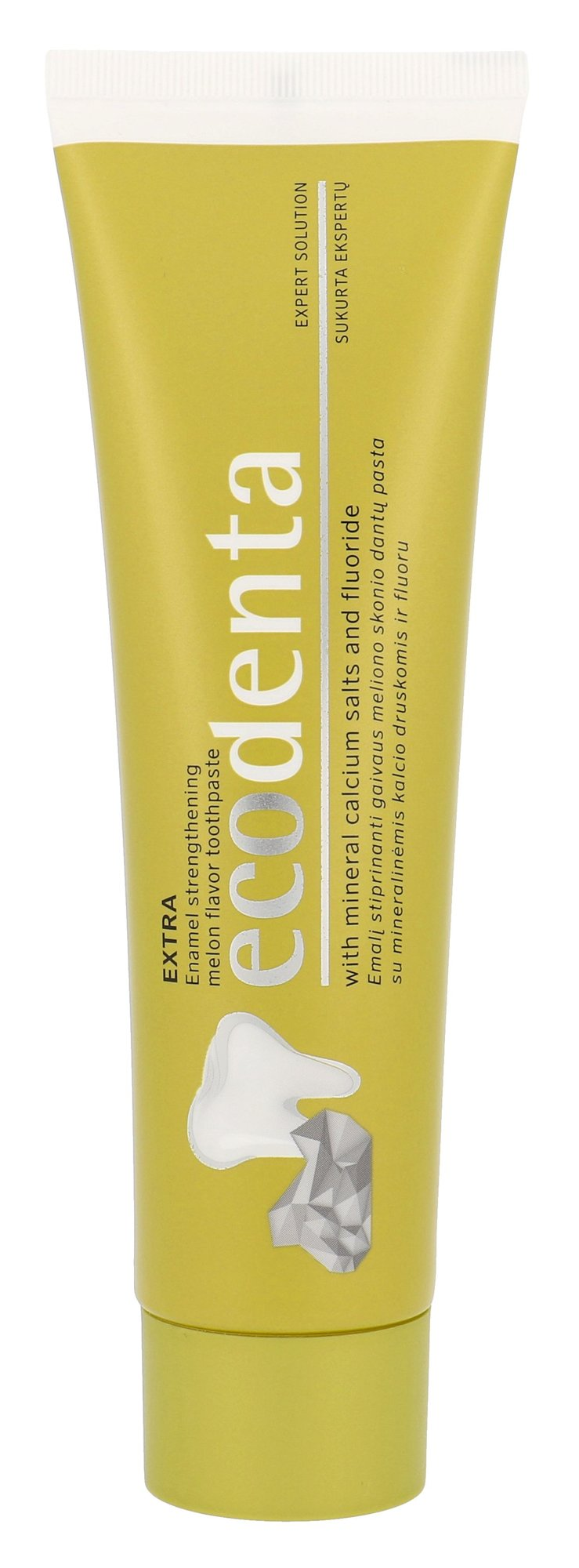 Ecodenta Toothpaste Cosmetic 100ml  Extra Enamel Strengthening Melon Flavor