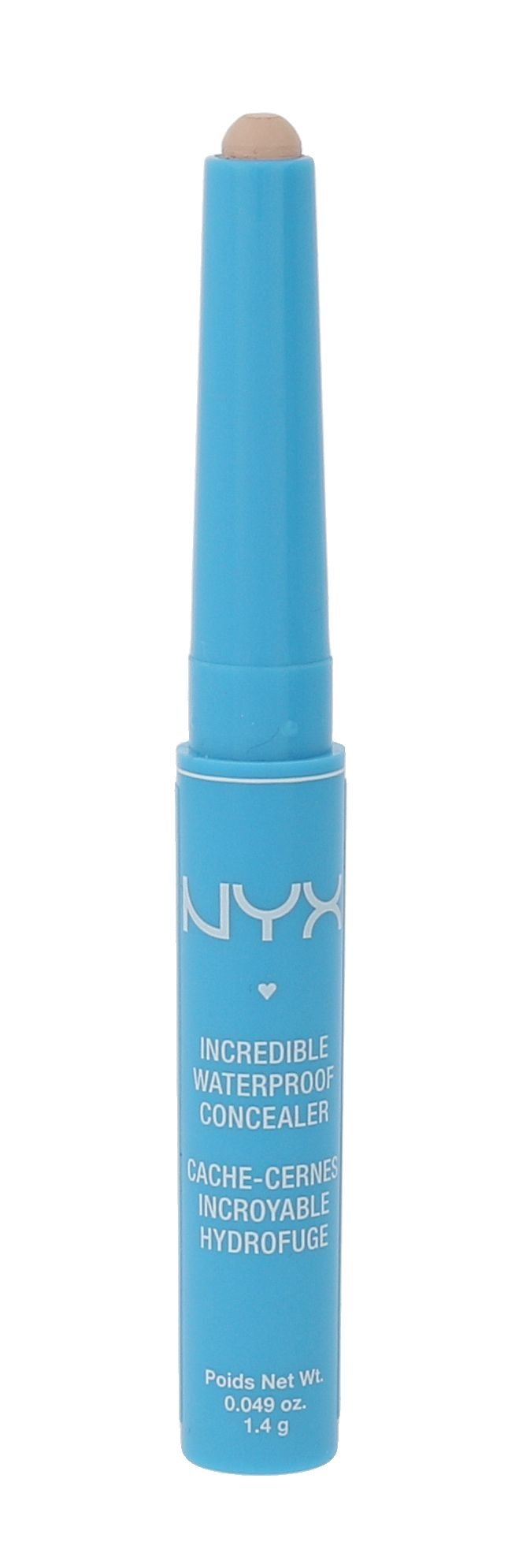 NYX Professional Makeup Incredible Cosmetic 1,4ml 01 Porcelain
