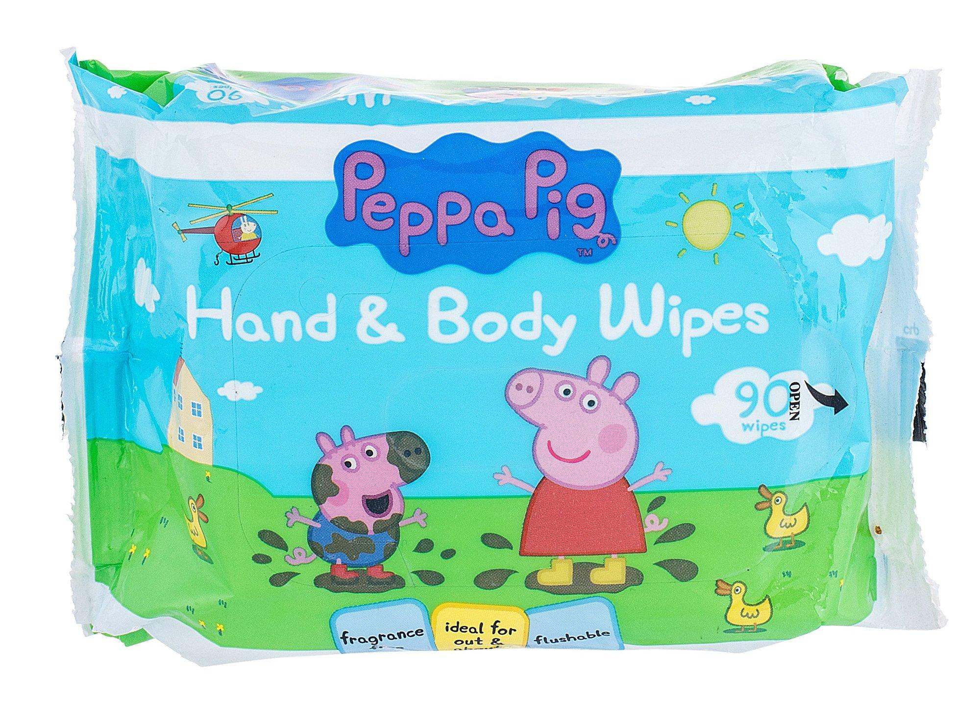 Peppa Pig Hand & Body Wipes Cosmetic 90ks