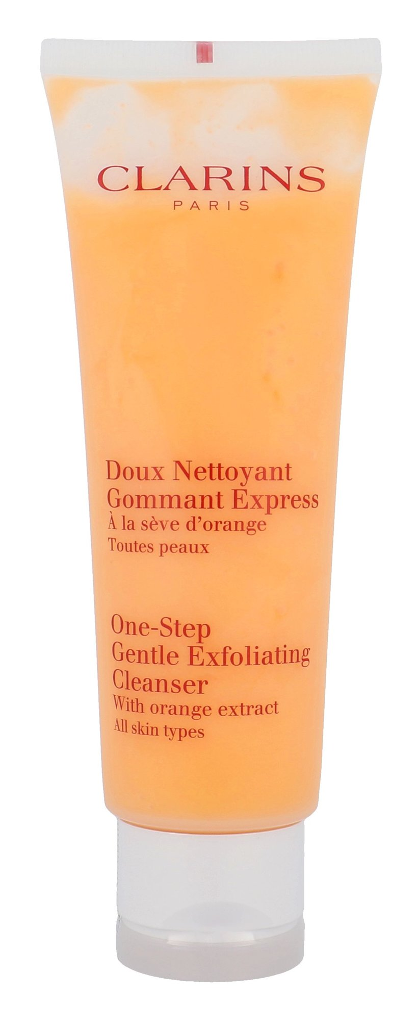 Clarins Cleansing Care Cosmetic 125ml  One Step Gentle Exfoliating