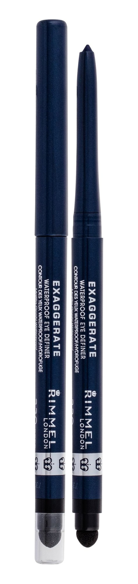 Akių šešėlis Rimmel London Exaggerate Waterproof Eye Definer
