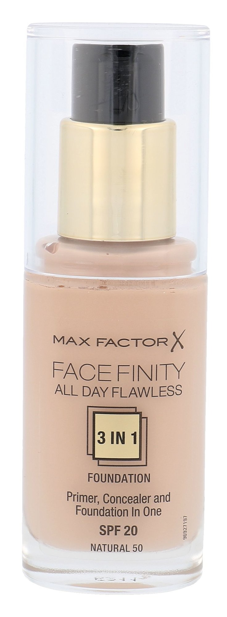 Max Factor Facefinity Cosmetic 30ml 50 Natural