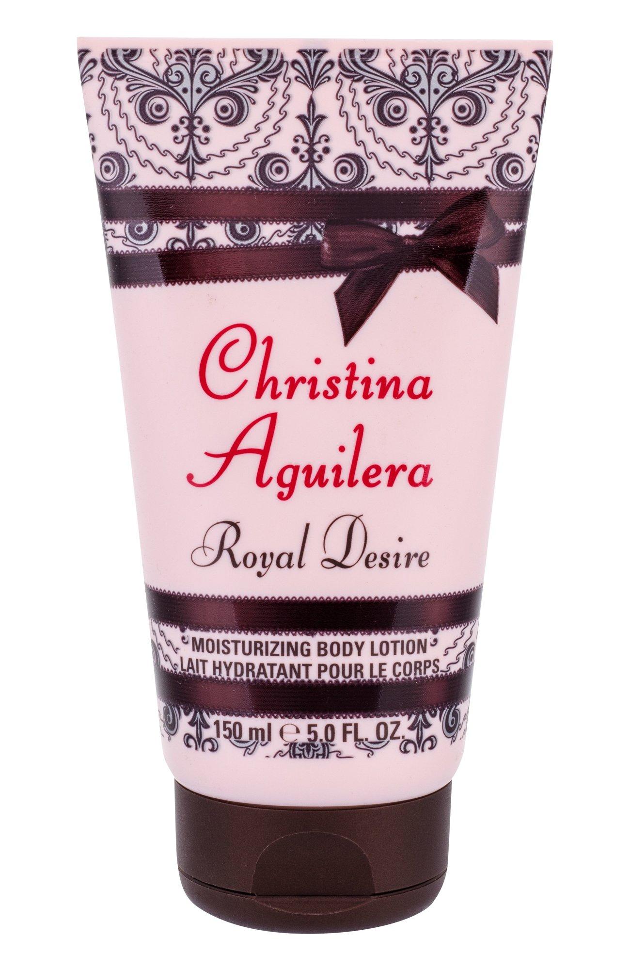 Kūno losjonas Christina Aguilera Royal Desire