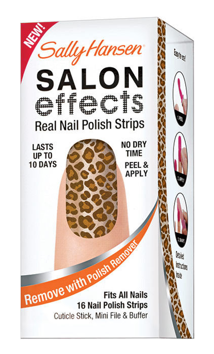 Sally Hansen Salon Effects Nail Polish Strips Cosmetic 20ml 440 Animal Instinct