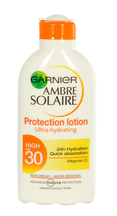 Garnier Ambre Solaire Protection Lotion High SPF30 Cosmetic 200ml
