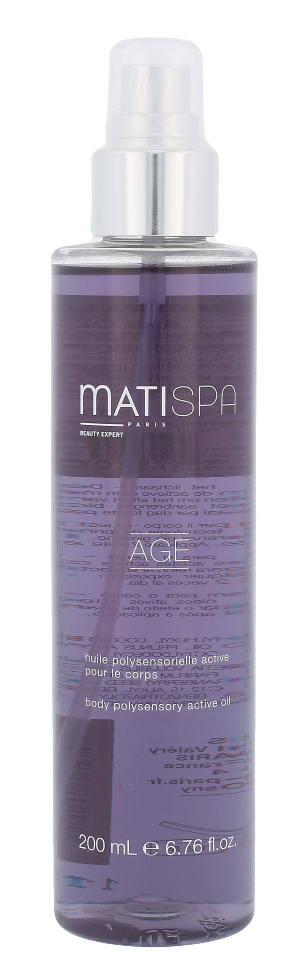 Matis Matispa Age Cosmetic 200ml  Body Polysensory Active Oil