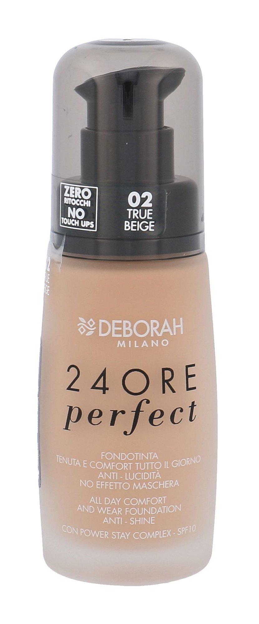 Deborah Milano 24Ore Cosmetic 30ml 02 True Beige