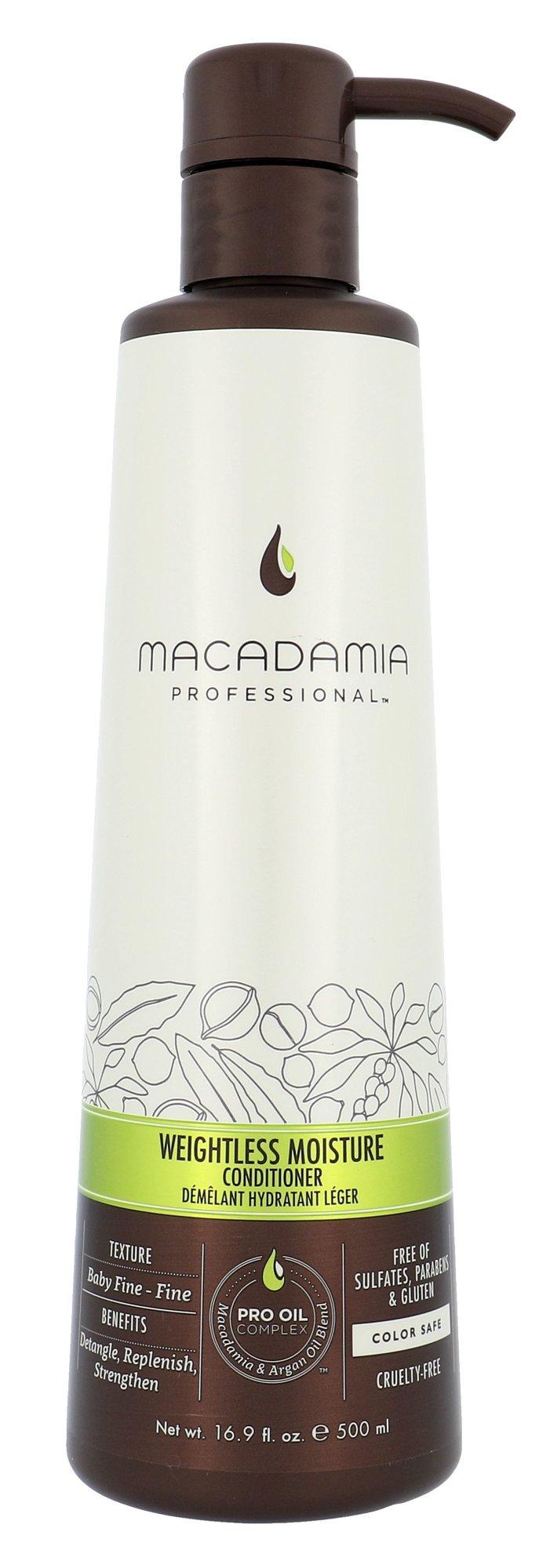 Macadamia Professional Weightless Moisture Cosmetic 500ml