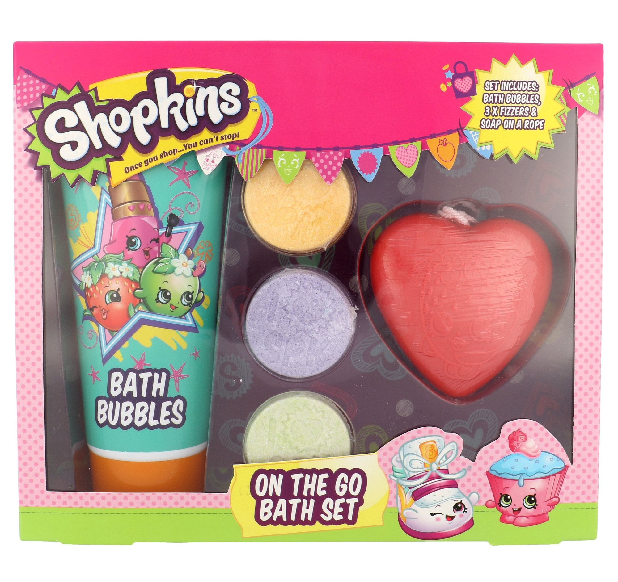Shopkins Bubble Bath Cosmetic 200ml