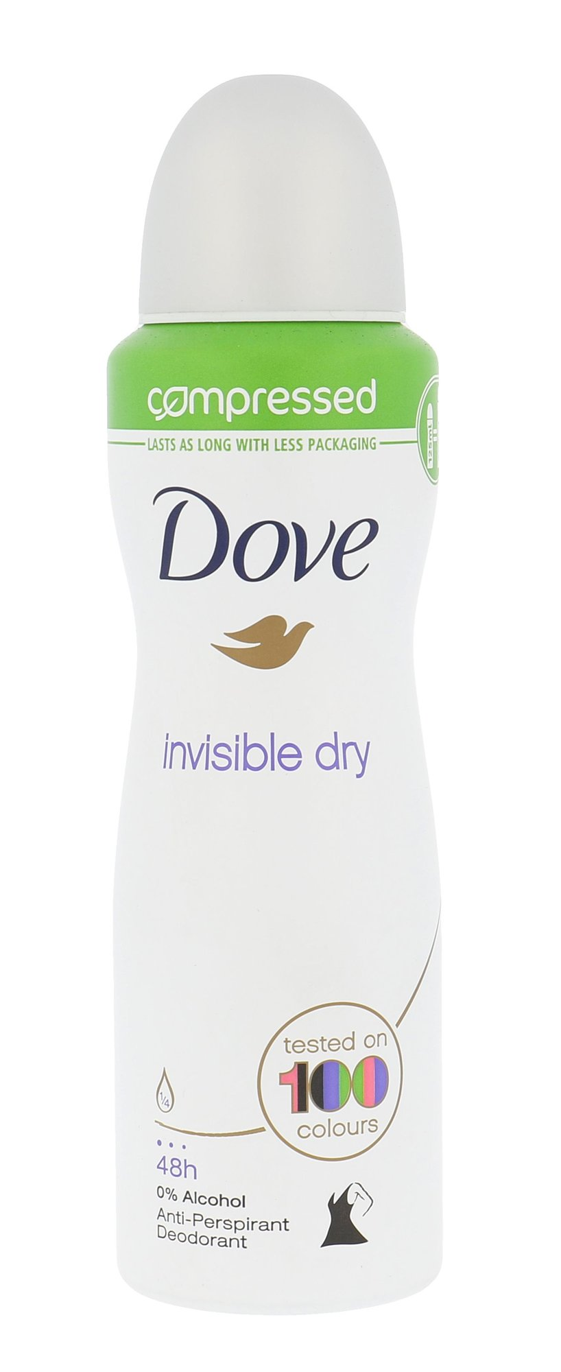 Dove Invisible Dry Cosmetic 125ml