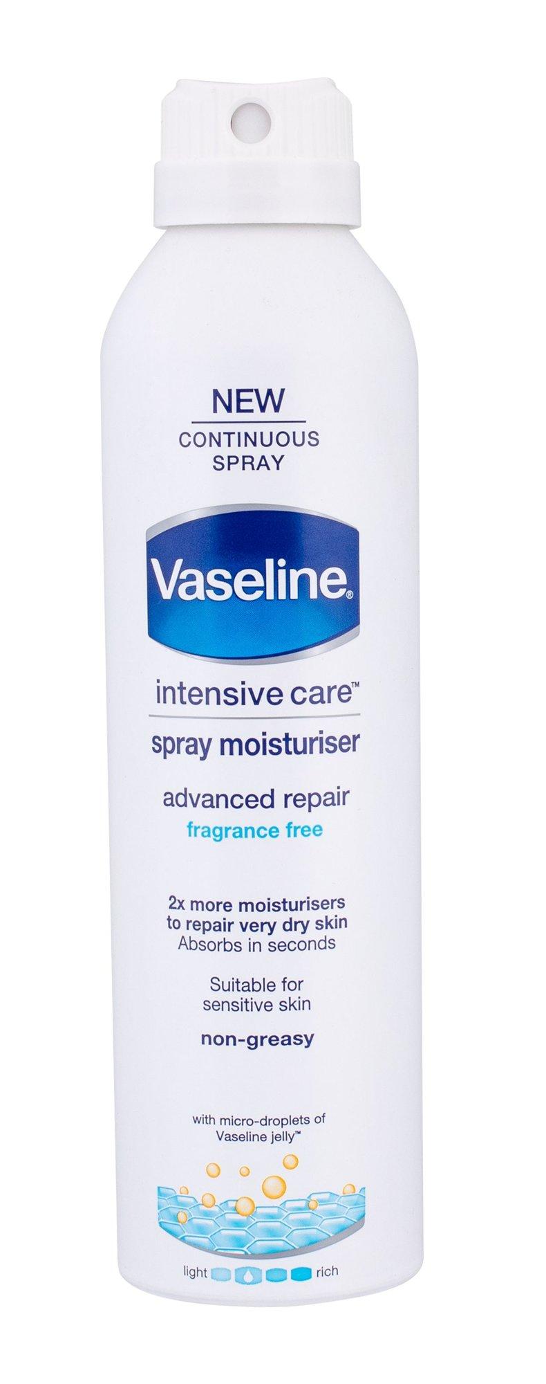 Vaseline Intensive Care Advanced Repair Spray Moisturiser Cosmetic 190ml