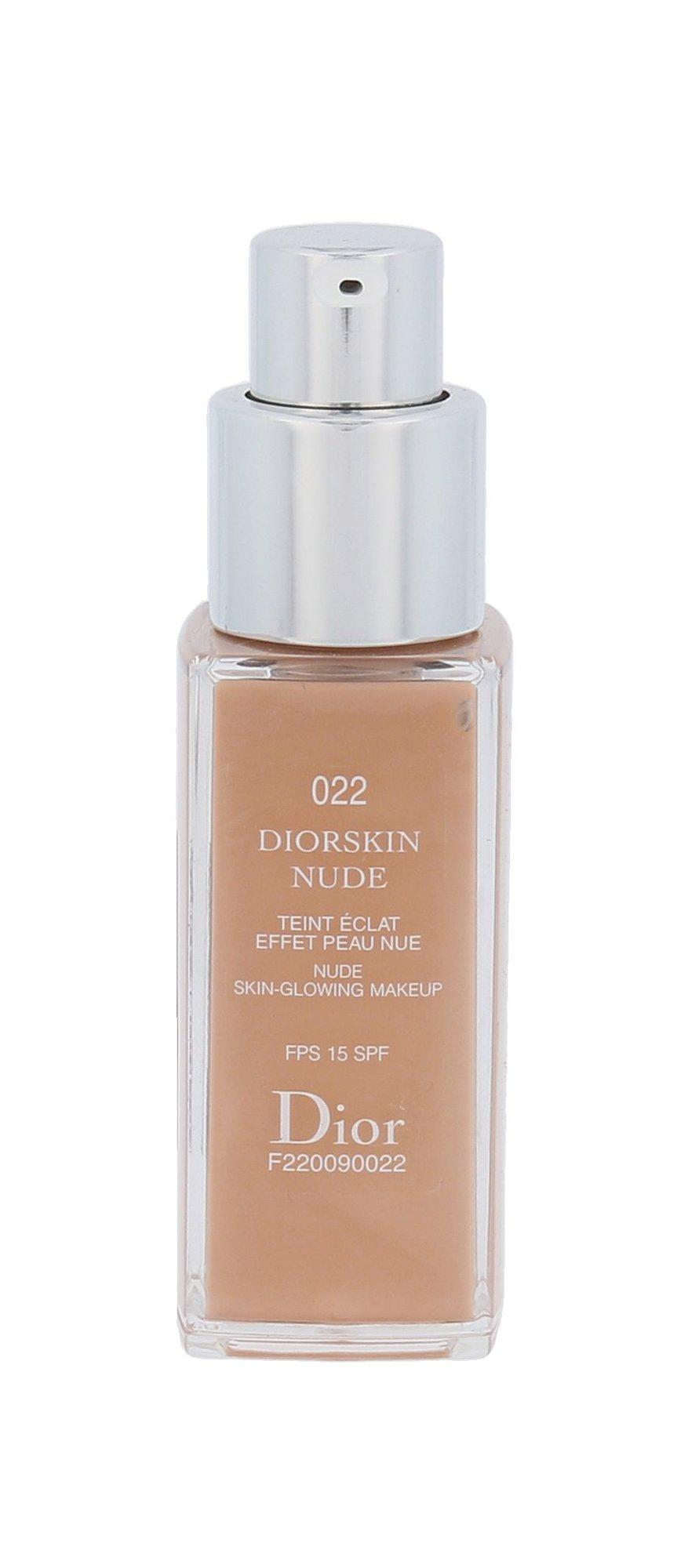 Christian Dior Diorskin Nude Cosmetic 20ml 022 Cameo