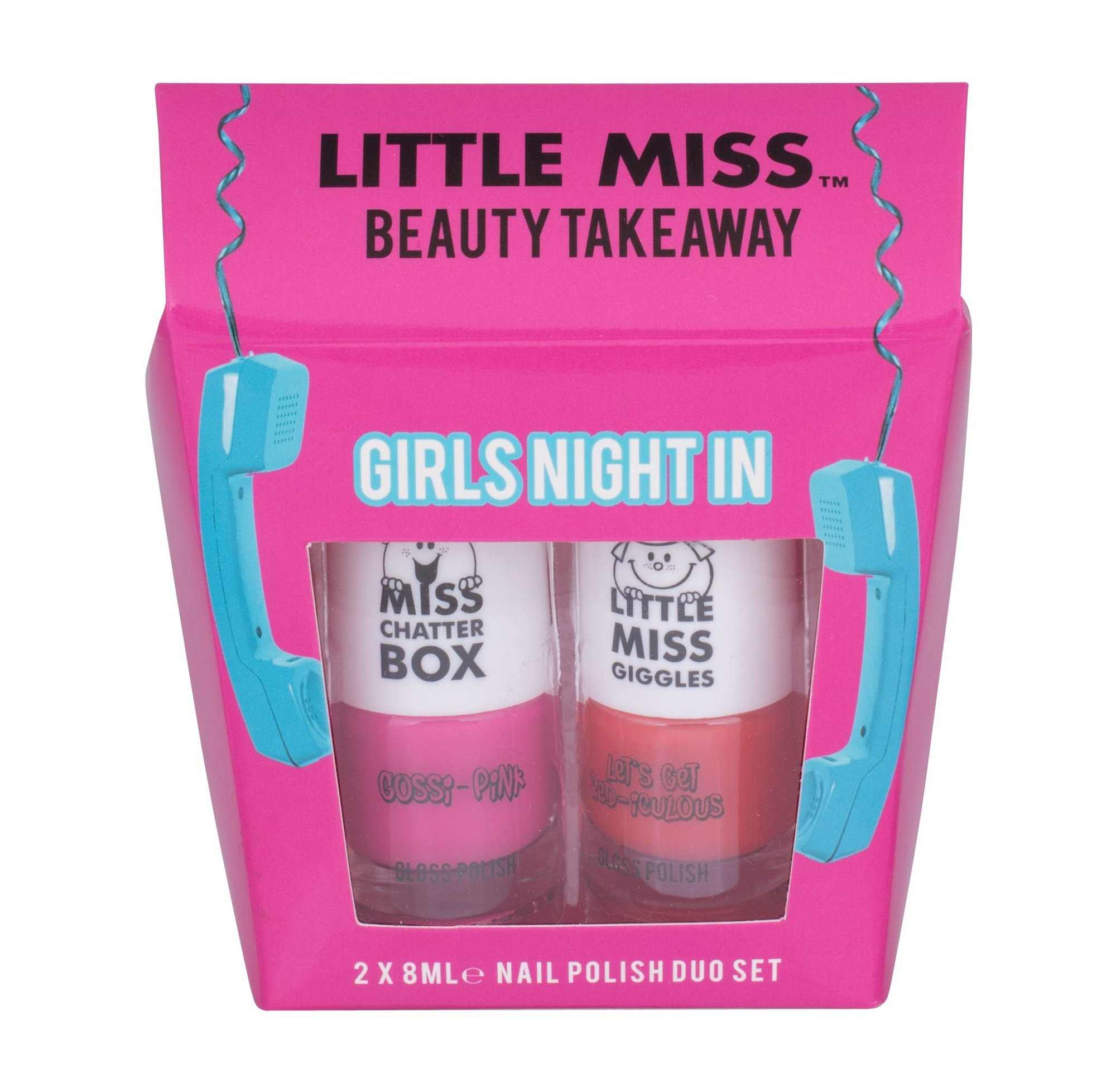 Little Miss Little Miss Beauty Takeaway Duo Kit Cosmetic 8ml Gossi-Pink