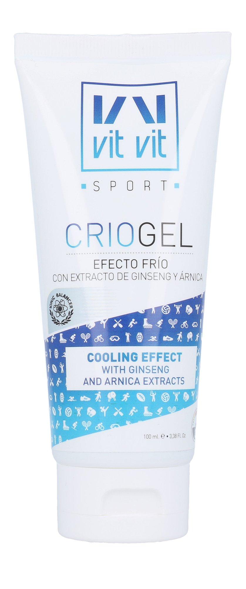 Diet Esthetic Vit Vit Sport Crio Gel Cosmetic 100ml