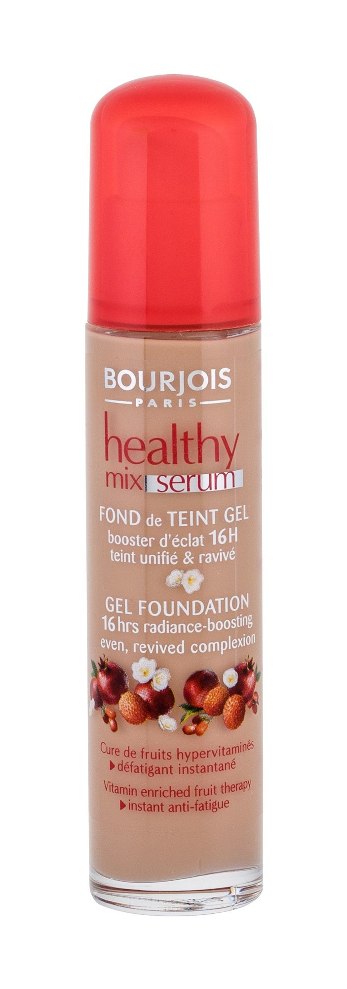 BOURJOIS Paris Healthy Mix Serum Gel Foundation 55 Cosmetic 30ml 55 Dark Beige