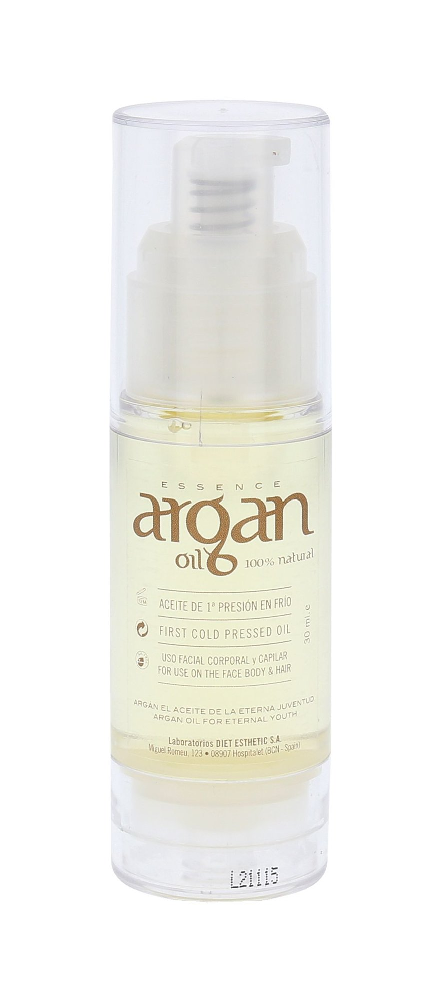 Diet Esthetic Argan Oil Cosmetic 30ml