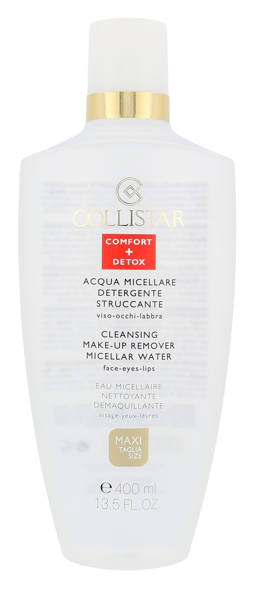 Collistar Micellar Water Cleansing Make-up Remover Cosmetic 400ml