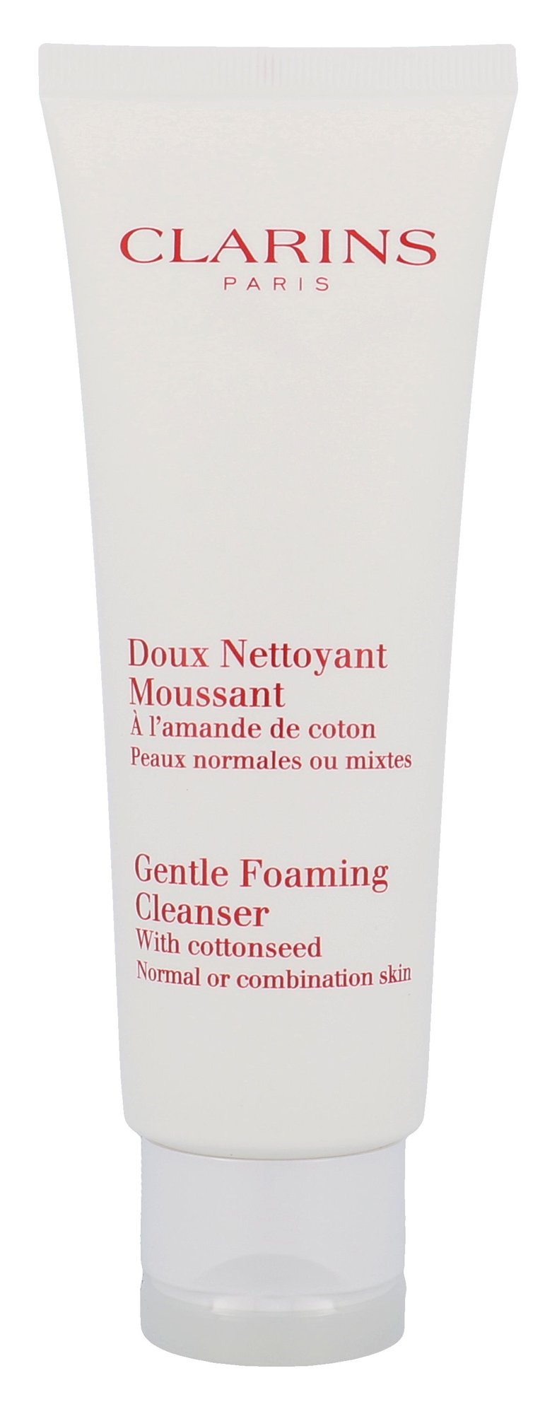 Clarins Cleansing Care Cosmetic 125ml  Gentle Foaming Cleanser