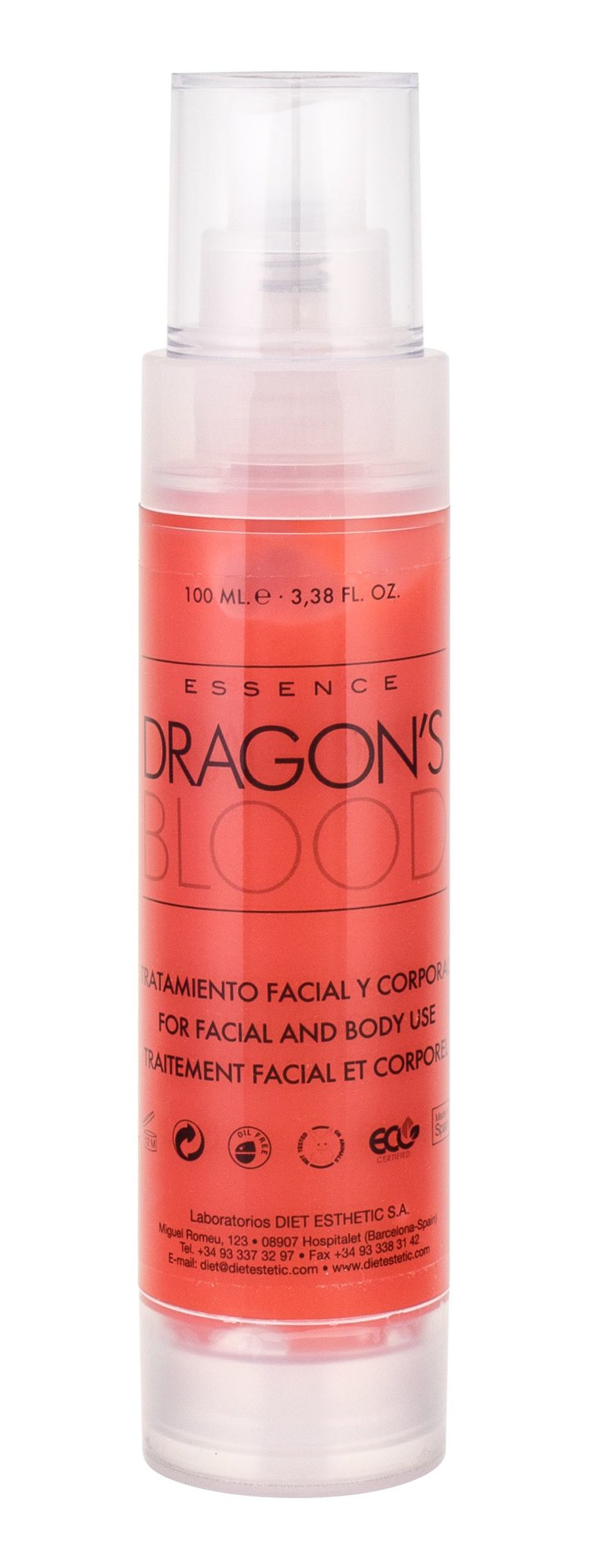 Diet Esthetic Essence Dragons Blood Cosmetic 100ml