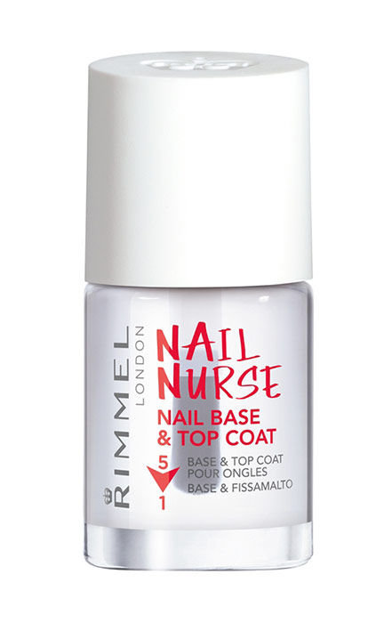 Rimmel London Nail Nurse Nail Base & Top Coat Cosmetic 12ml