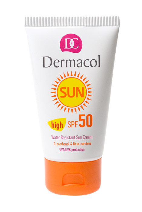 Apsaugai nuo saulės Dermacol Sun WR Sun Cream SPF50